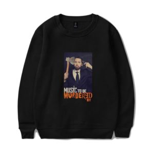 "Eminem Sweatshirt ""Music to be Murdered by"" #1"