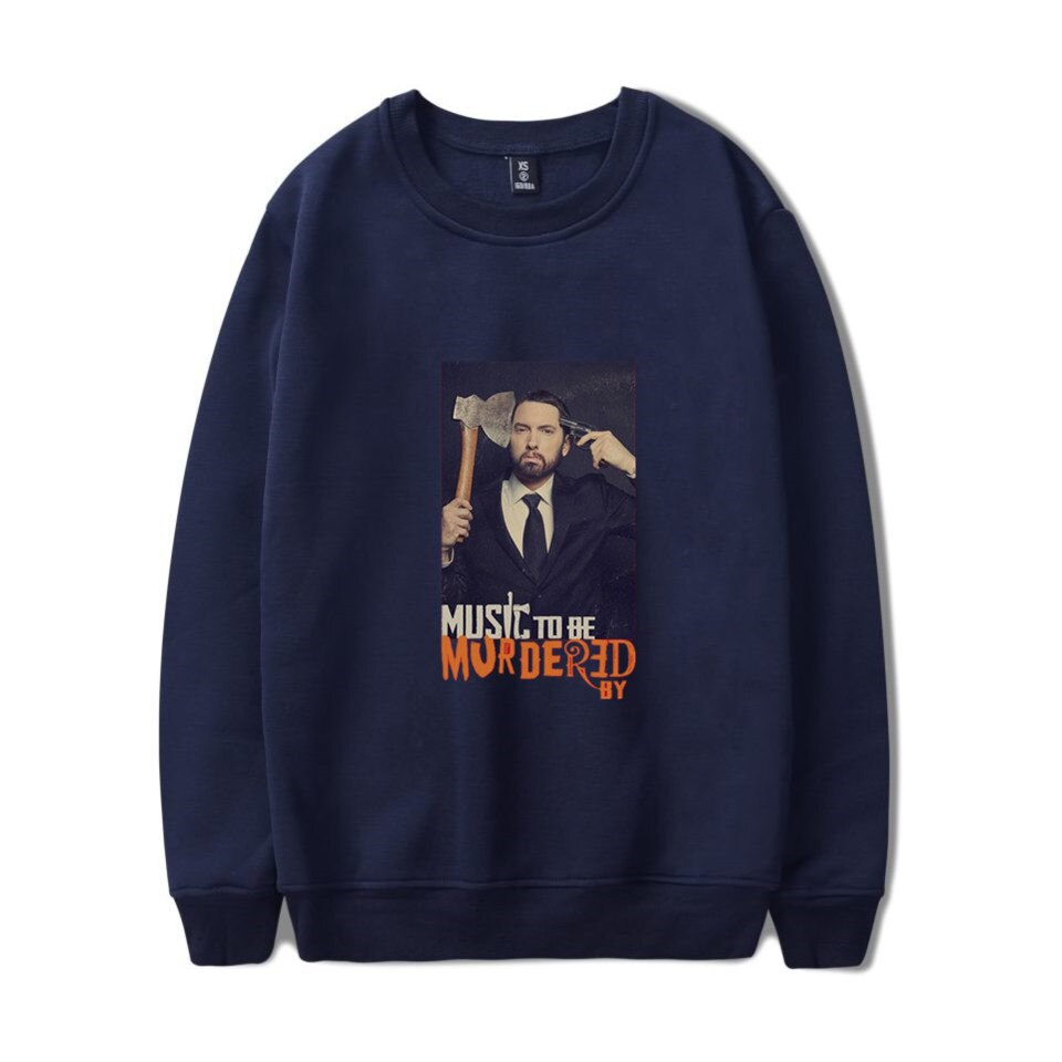 music to be murdered by sweatshirt